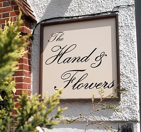 The Hand & Flowers - :-)
