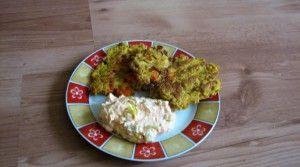 Dýňovo - mrkvové placičky s tvarohem