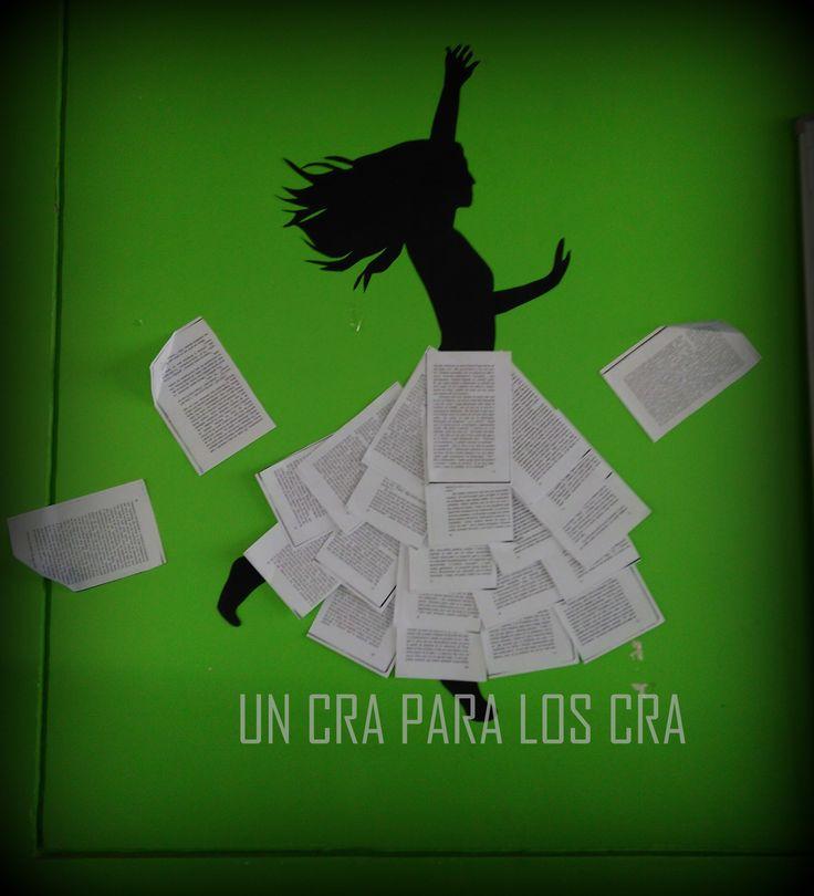 decoración biblioteca escolar decoración biblioteca infantil deco Library Un CRA para los CRA Bibliotekaro / mural biblioteca