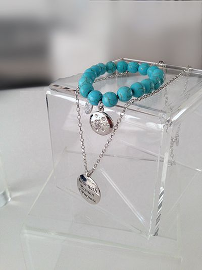 Jewelry for women that serves as a daily reminder to stay motivated and inspired! #gifts #giftideas #women #inspirational  http://www.jengroover.com/empowered.html $30.00