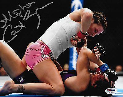 Cat Zingano Signed UFC 8x10 Photo PSA/DNA Autograph 178 Picture vs Amanda Nunes