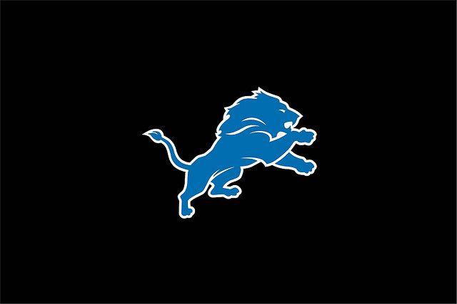 Detroit Lions New Logo | NEW Detroit Lions Logo on Black Desktop Background | Flickr - Photo ...