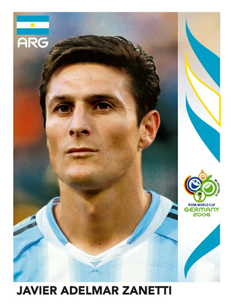 176 Javier Adelmar Zanetti - Argentina - FIFA World Cup Germany 2006