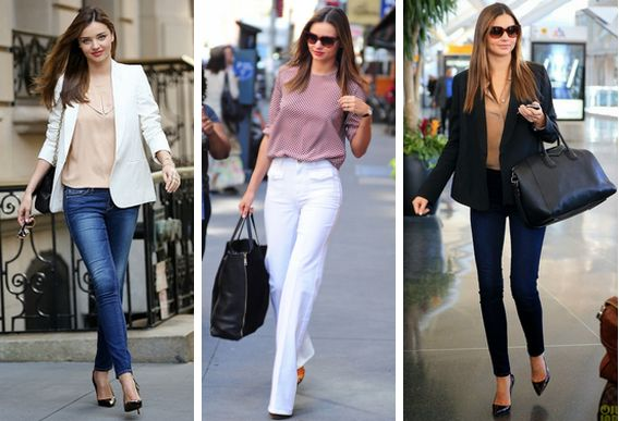 Knots and Ruffles: Get the Style: Miranda Kerr's Work Inspired Street…