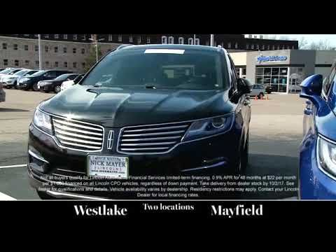 Your Lincoln Sedan Middleburg Heights OH is Waiting for You at Nick Maye...