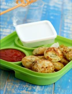 This quick snack gets full marks in all aspects – taste, health, and satisfaction for moms and kids! Made easily with readymade idli batter, chopped spinach and grated veggies, the Quick Vegetable Appe is not only nutritious but also yummy and handy for kids to hold, dunk and gobble up. No fuss, no mess, it is perfect to be packed as a mid-day snack along with tomato ketchup, or a homemade accompaniment like chutney or sambhar.