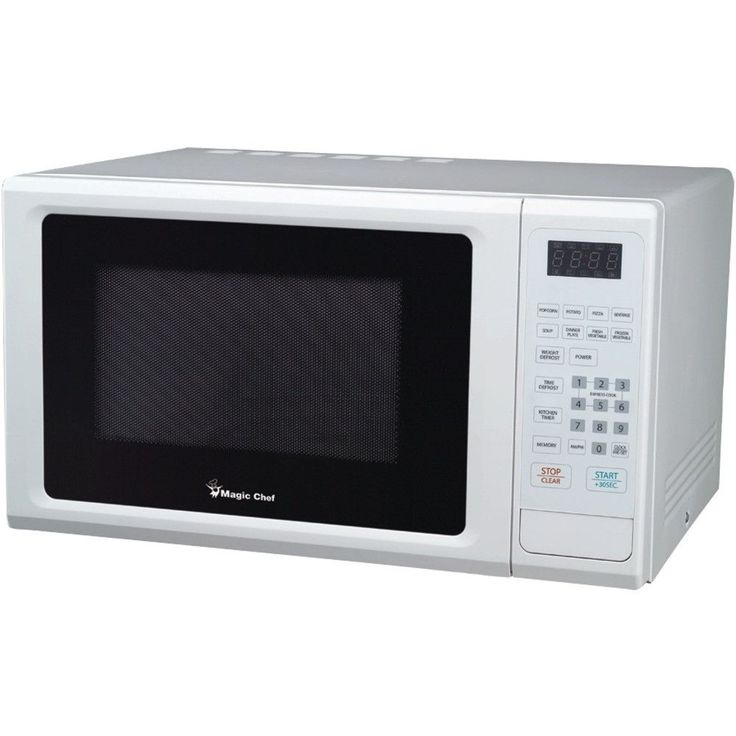 Magic Chef 1.1 Cubic-ft 1000-watt Microwave With Digital Touch (white)