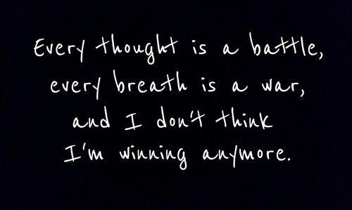 I'm slowly giving up...