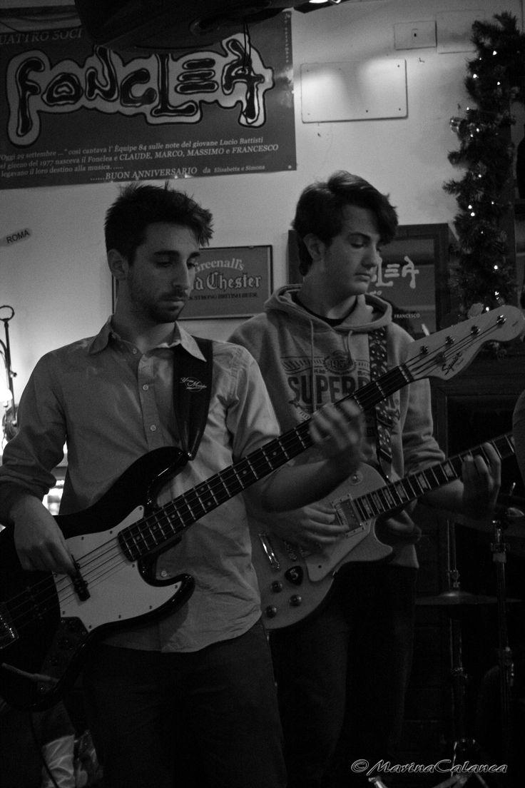 basso e chitarra