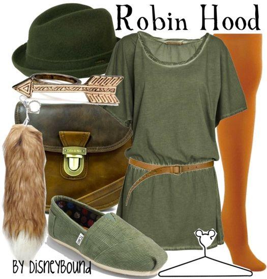 robin hood | Disney Bound
