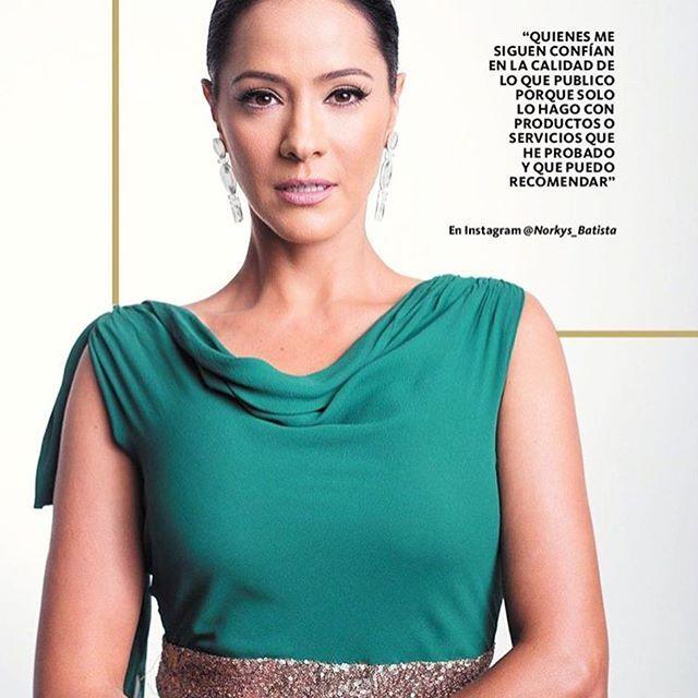 Hoy en la Revista #TodoEnDomingo @todoendomingoen @reporterorosa Gracias..! Y Gracias a   @luisperdomocouture 👗mi maquillador y estilista @reinaldoquilen   ❤️ esto es parte de lo publicado: #Repost @todoendomingoen with @repostapp ・・・ #Repost @reporterorosa with @repostapp ・・・ La actriz @Norkys_Batista hoy [16/10] forma parte de la revista 'Todo en Domingo', donde expone su punto de vista como una de las celebridades de Venezuela más seguida en las redes sociales👊🏻. La magacín describe a…