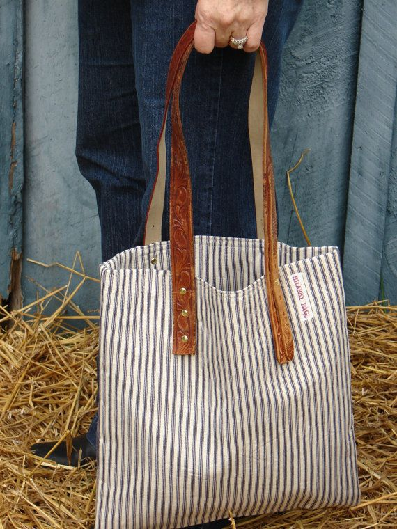 cute tote: I can make this