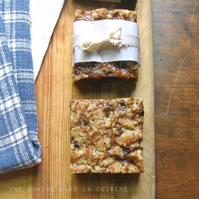 Salted Caramel and Chocolate Chunk Bars   My Sweet Side   Pinterest ...