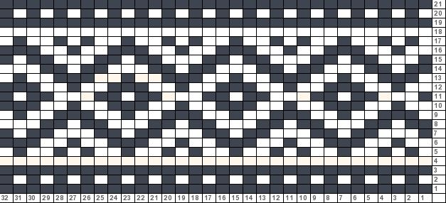Tricksy Knitter Charts: untitled chart copy (75908)