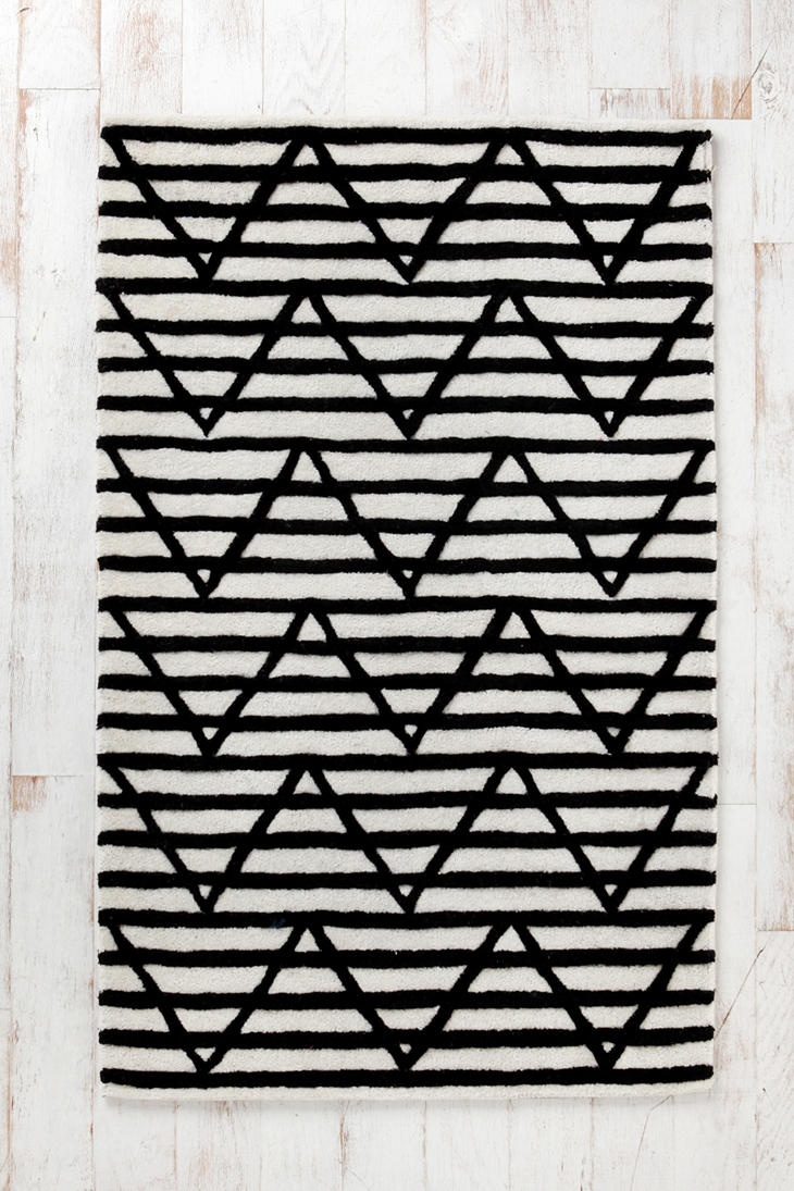 Assembly Home Between The Lines Tufted Rug  #UrbanOutfitters: Decor, Idea, Pattern, Lines Tufted, Homes, Rugs