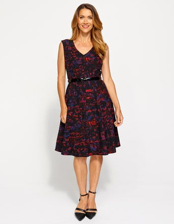 Jacqui e red dress images