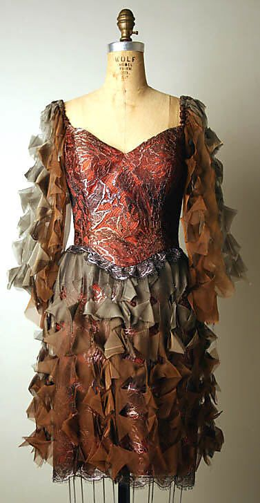 Evening Dress, Ca. 1995, Zandra Rhodes, British-made, sold at Bergdorf Goodman (American, founded 1899)