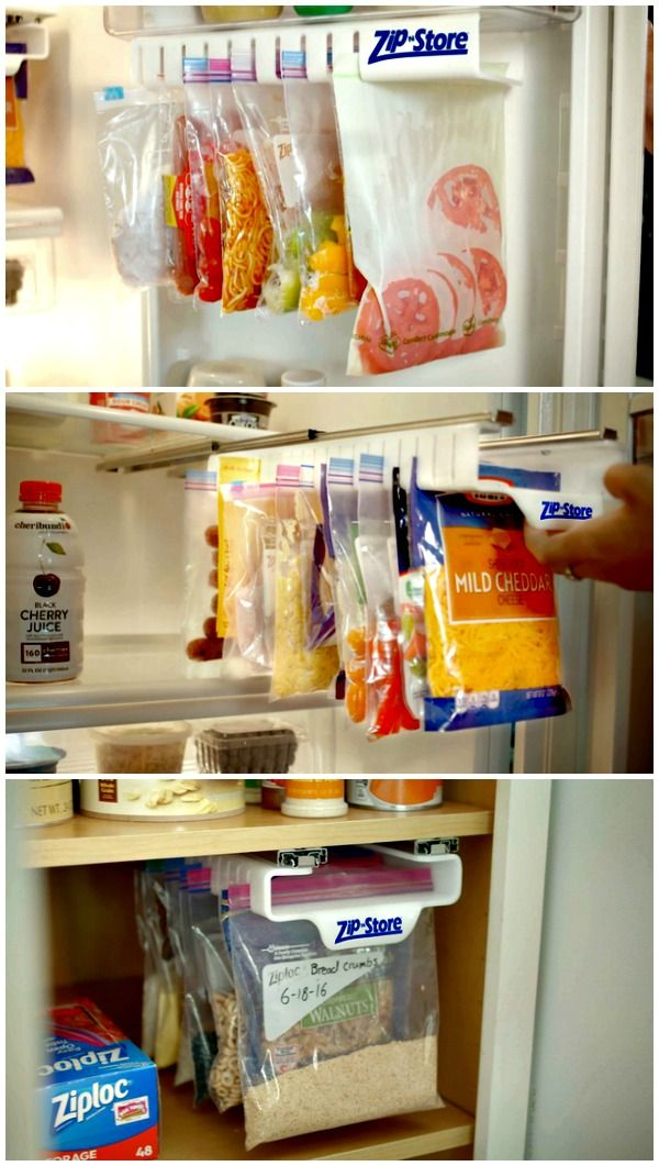 Zip n Store is a revolutionary food storage system that simplifies the way you store, organize and find your food!                                                                                                                                                                                 More