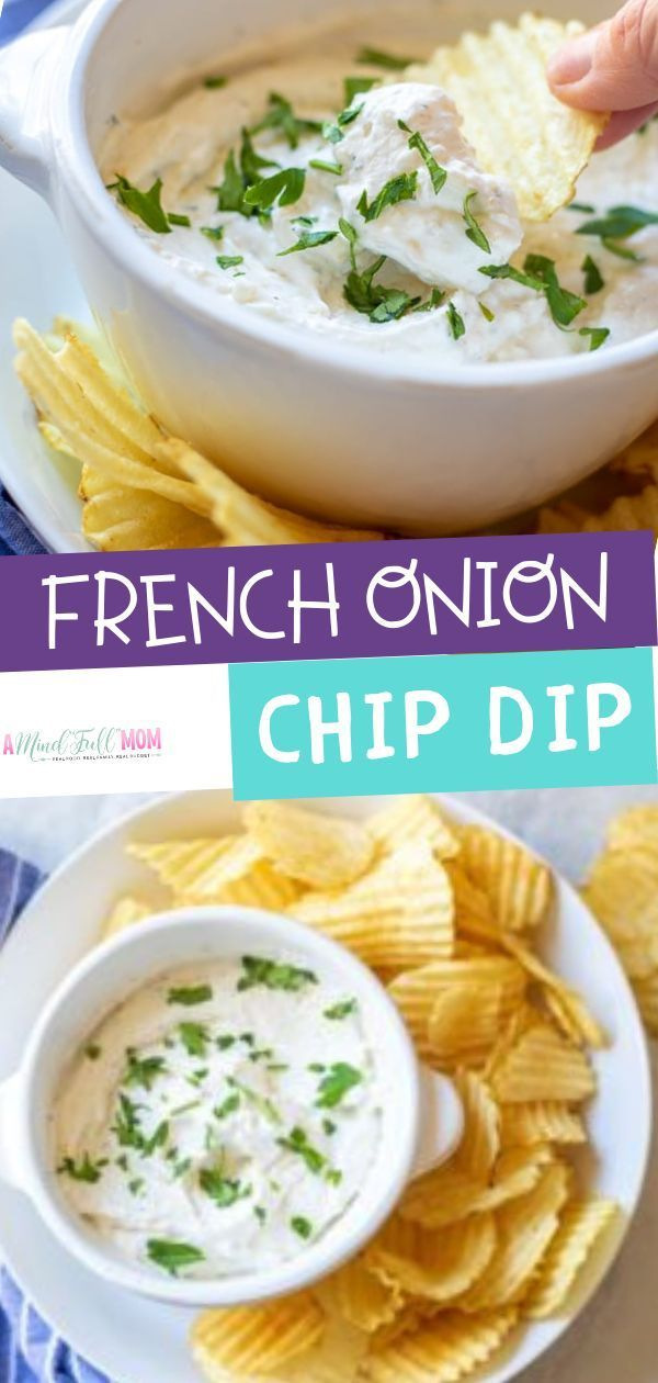 A Homemade Sour Cream And Onion Dip Recipe Is The Best Dip Ever This French Sour Cream And Onion Dip Recipe French Onion Chip Dip Recipe Sour Cream Veggie Dip