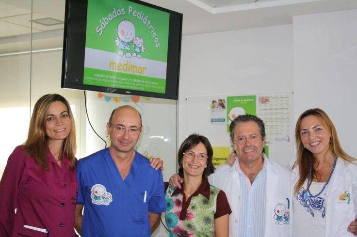 La 1ª jornada de los #SÁBADOSPEDIÁTRICOS MEDIMAR culminó con gran éxito de asistencia.  Os esperamos en la próxima el 23 de noviembre.