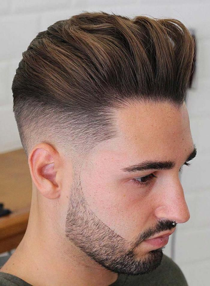 Back Swept Undercut #Menshairstyles | Mens hairstyles in 2019