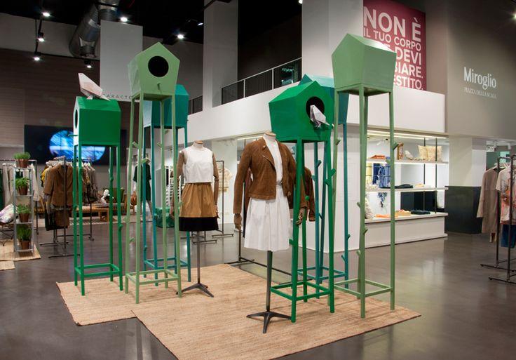 Miroglio + Roda store installation – BBMDS