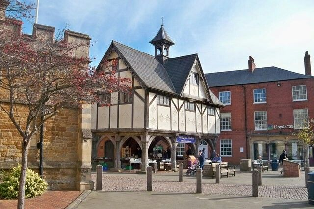Tuesday 17 January 2017, beautiful town of Market Harborough.