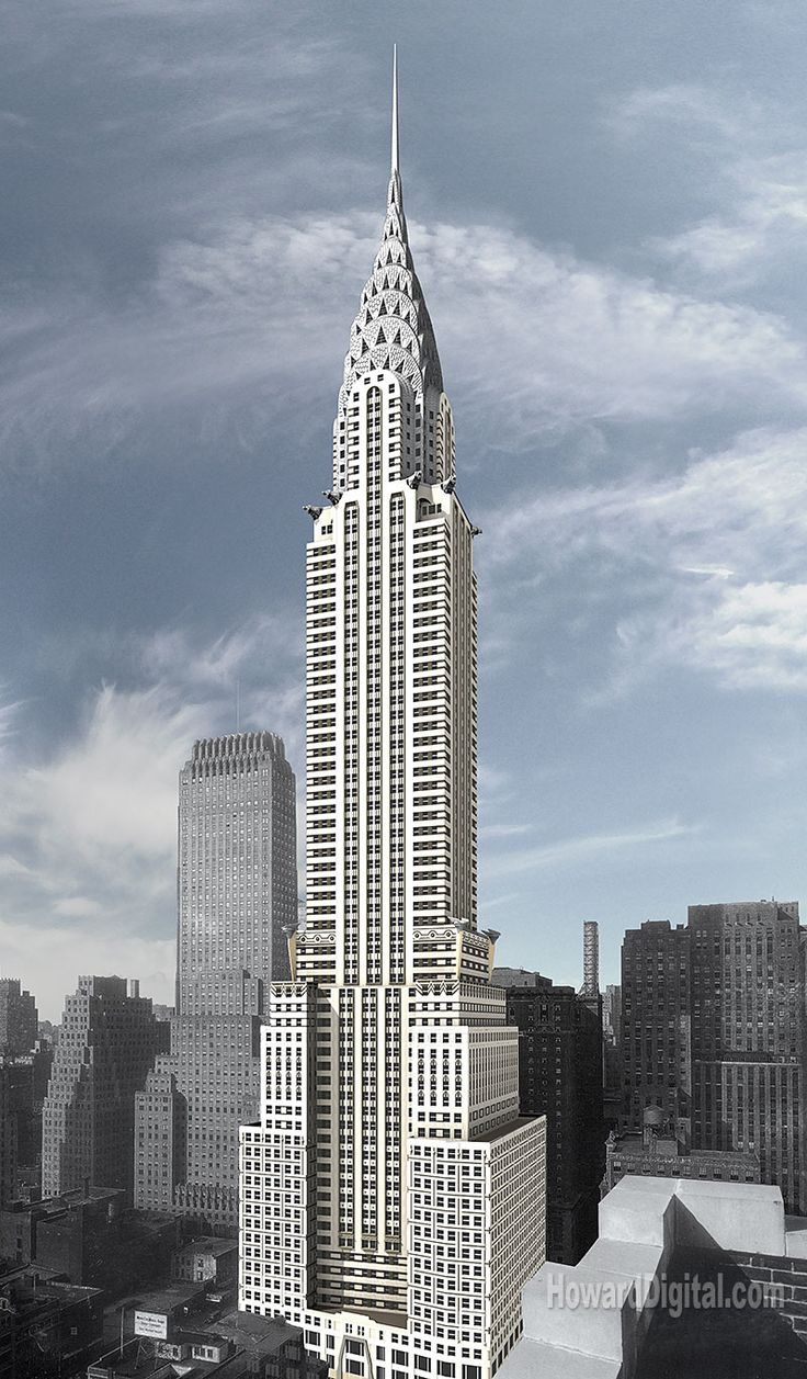 17 best images about chrysler building new york on - Style new york deco ...