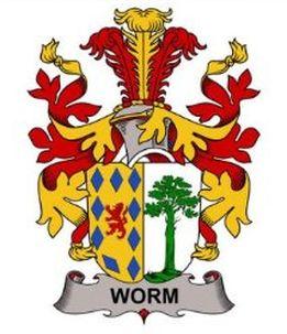 Worm family crest