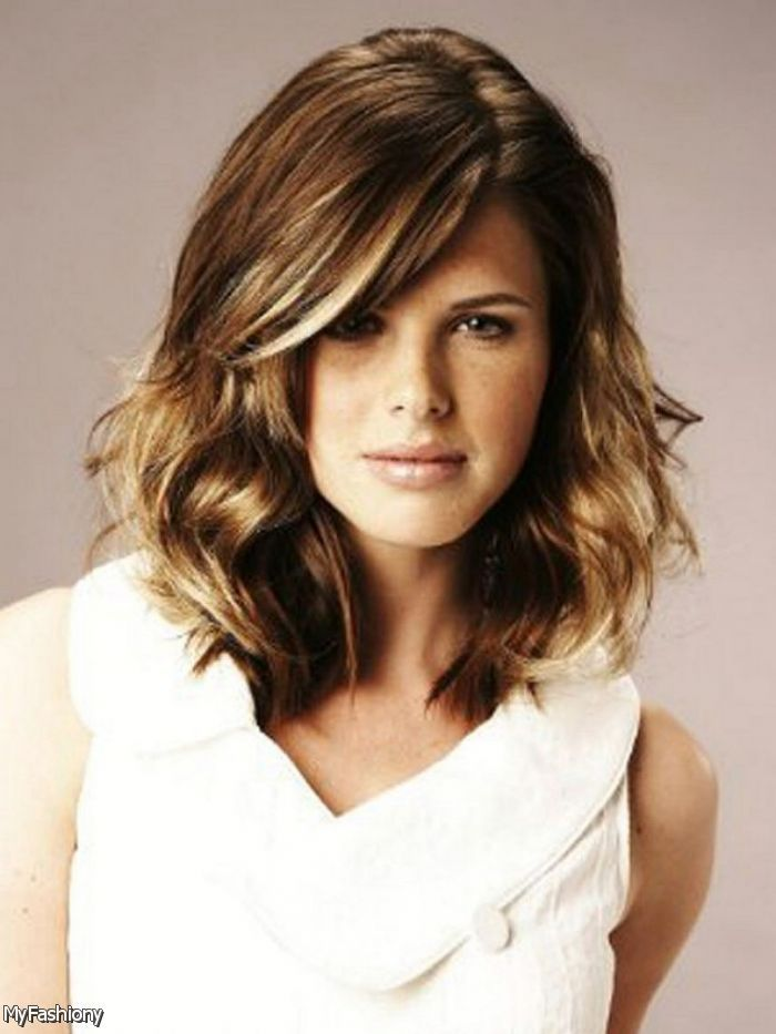 Medium Length Hairstyles For Naturally Wavy Hair : 17 best hair images on pinterest