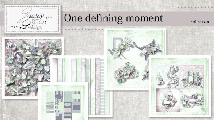 One defining moment collection by Jessica art-design