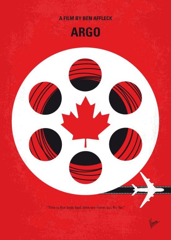 Argo (2012) ~ Minimal Movie Poster by Chungkong #amusementphile