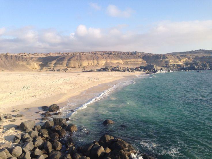 Playa Blanca, III Región Chile