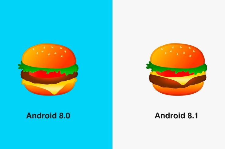 Google Fixes Burger Emoji in Latest Android Update