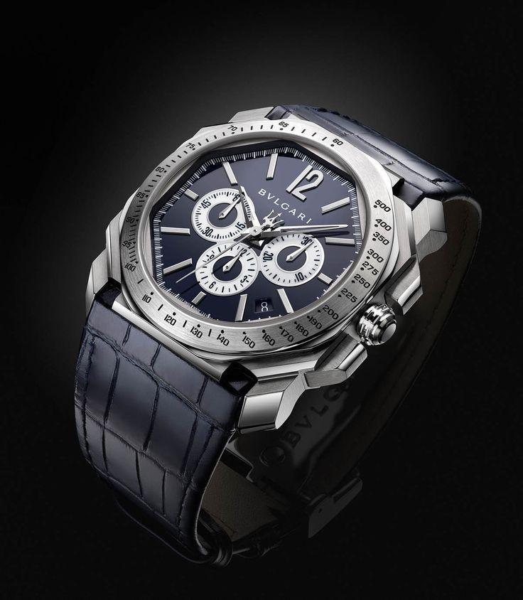 Quand deux marques de prestige comme Bulgari et Maserati s'associent, c'est souvent pour le meilleur. A l'image de la montre Bulgari Octo Maserati.