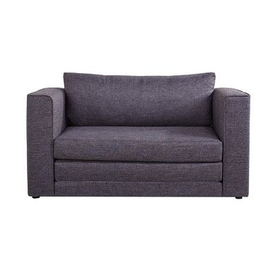 Features:  -Versatile: Loveseat, sleeper.  -Density foam cushions provide extra…