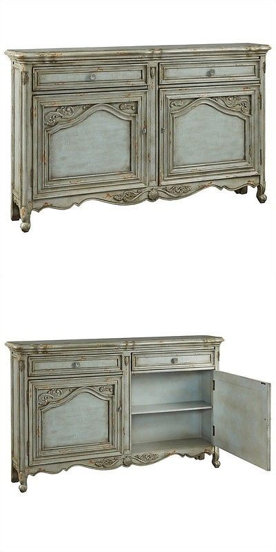 Sideboards and Buffets 183322: Pulaski Credenza In Russelle Transitional Buffet Table And Sideboard -> BUY IT NOW ONLY: $572.67 on eBay!