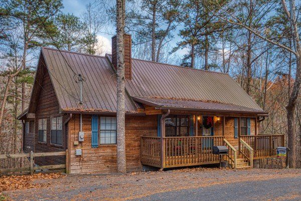 Hillside Hideaway Deluxe 1 Bedroom Pigeon Forge Cabin Rental Secluded Cabin Cabin Cabin Style Homes