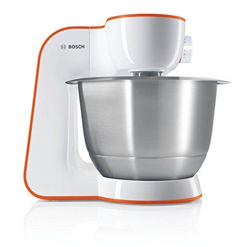 Bosch MUM54I00 Robot Pâtissier 900 W 39 L Orange Ustensiles de - bosch küchenmaschine profi 67