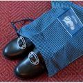 Pose til oppbevaring av bunad sko.  Gjerne med navnet ditt på.
