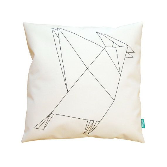Hey, I found this really awesome Etsy listing at https://www.etsy.com/listing/249463350/geometric-bird-home-decor-couch-pillow