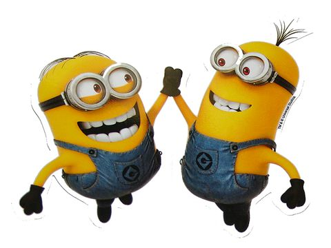 Despicable Me Minion Pals Bumper Sticker Decal - PopCultureSpot.com | Bobble Heads & Kitsch Shop