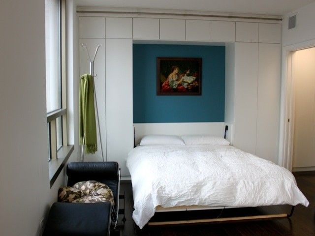 or with a nonmurphy bed - Modern Murphy Bed