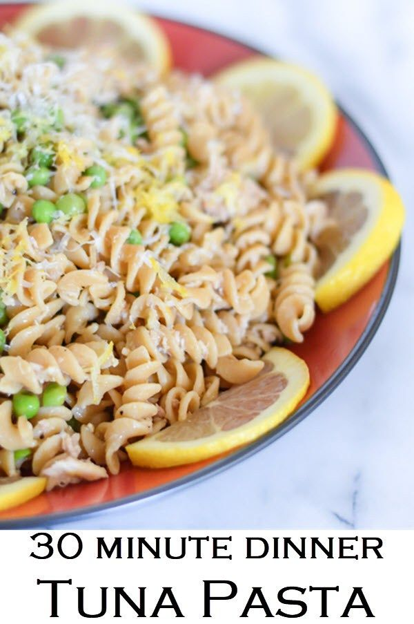 Garlic Lemon Tuna Pasta Recipe Food Recipes Tuna Pasta