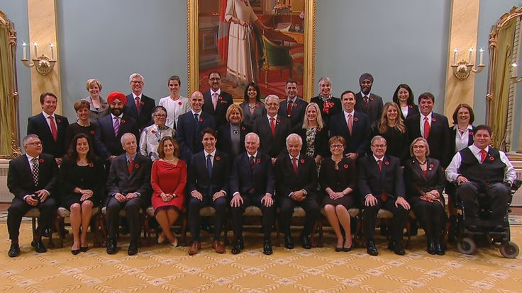 Prime Minister Justin Trudeau has appointed 15 women and 15 men to his cabinet. Read the full federal cabinet list.