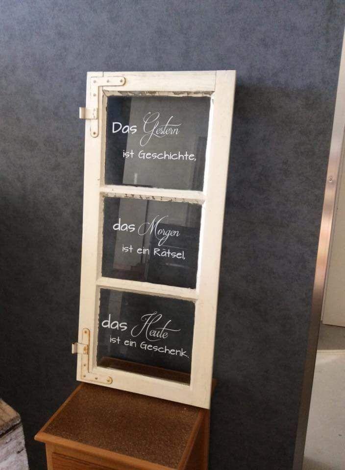 Fenster Schrift  Fenster Schriftzge  Alte fenster