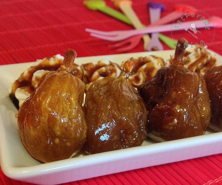 I fichi caramellati sono un must delle conserve estive. Con una mousse di ricotta, un gelato di vaniglia o cubetti di formaggio stagionato sono un golosità.