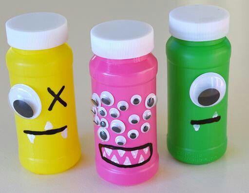 Monster bubbles - Jack's preschool class
