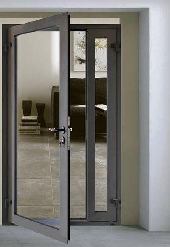 aluminum casement exterior door
