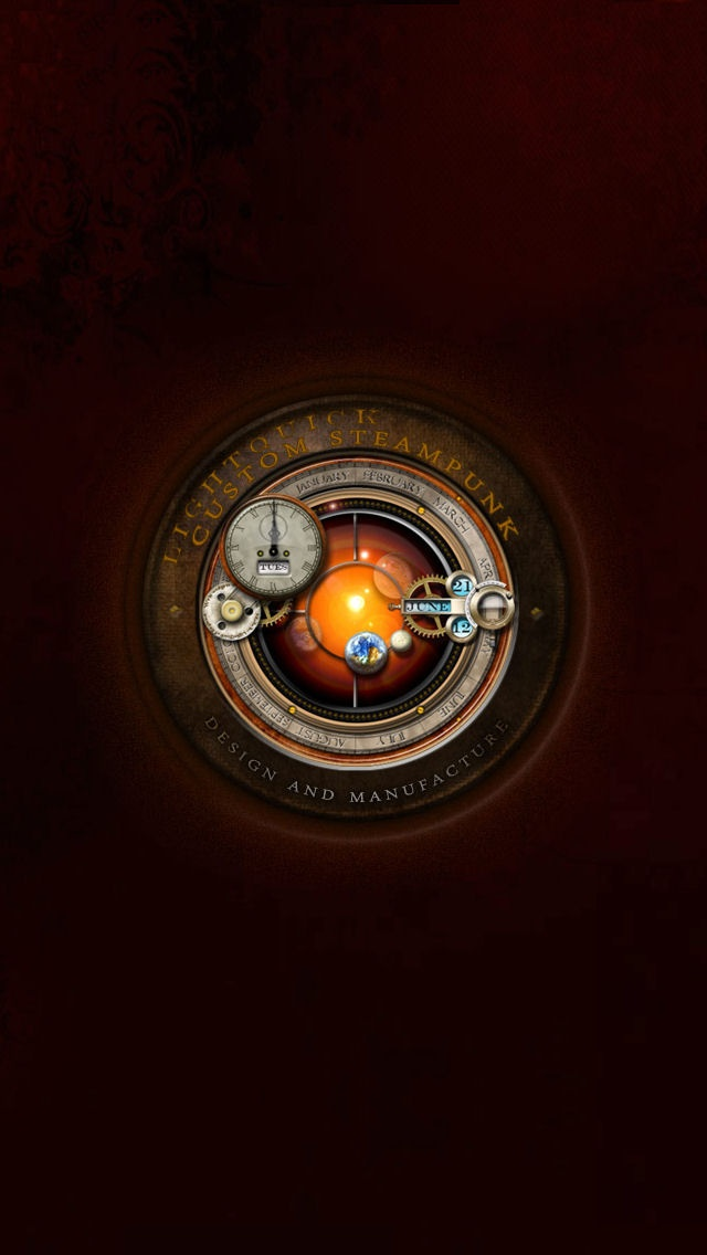 steampunk iphone wallpaper - photo #2